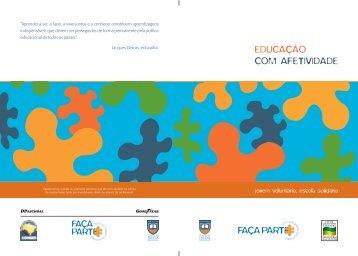 EDUCAÇÃO COM AFETIVIDADE - Fundação Educar DPaschoal