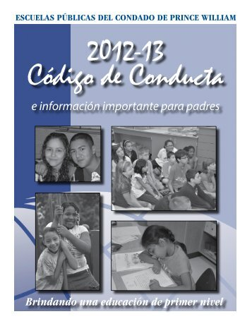 Código de Conducta - Prince William County Public Schools