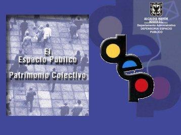 Departamento Administrativo DEFENSORIA ESPACIO PUBLICO