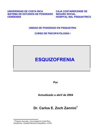 Esquizofrenia - Binasss