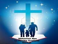 Watchman Nee La Familia Cristiana Normal - Tesoros Cristianos