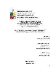 Tesis Electrónicas Universidad de Chile