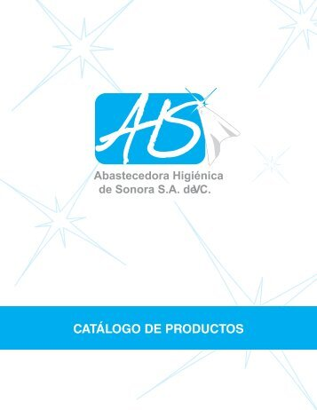 CATÁLOGO DE PRODUCTOS - Abastecedora Higiénica de Sonora