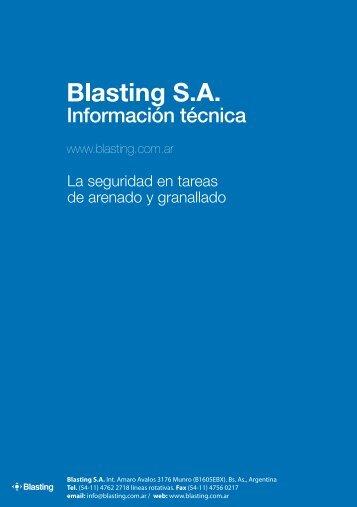 La seguridad en tareas de arenado y granallado.pdf - Blasting