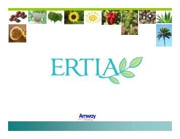 Presentación Ertia (actualizado) - Amway
