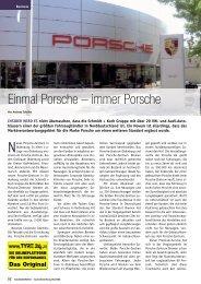 Einmal Porsche – immer Porsche - Reifen Consult...