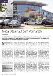 Mega Dealer auf dem Vormarsch - Reifen Consult...