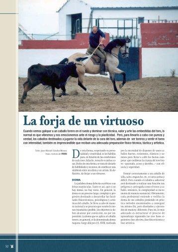 Toreo a caballo - Las Ventas