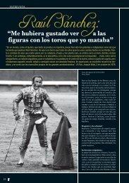 Raúl Sánchez - Las Ventas