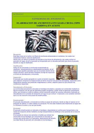 enlatados de anchoveta