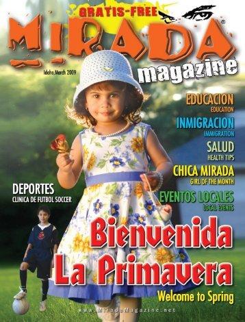 marzo 2009 - Mirada Magazine Inc