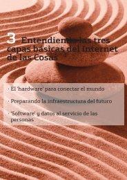 Entendiendo las tres capas básicas del Internet de las Cosas
