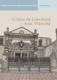 Crítica y Arte. Filosofía - Banco de Reservas