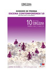 Dossier Escena Contemporánea'10 - La República cultural.es