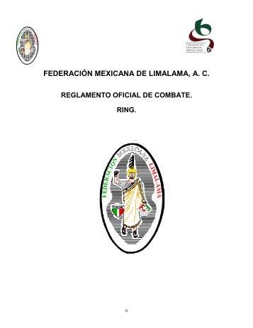 Reglamento Oficial de Combate en RING - Fedmexlimalama.com.mx