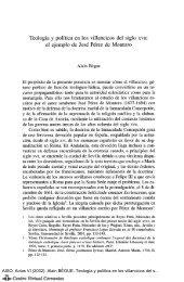 Teología y política en los villancicos del siglo XVII: el ejemplo de ...