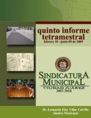 Quinto Informe - Municipio de Ciudad Juarez