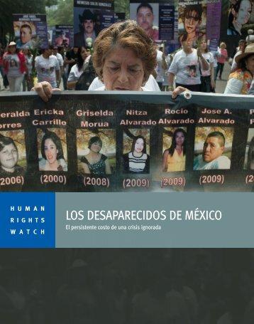 Los Desaparecidos de México - Human Rights Watch