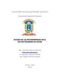 estudio de las microempresas en el sector pesquero en tacna