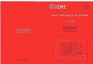 aquí - Instituto Geológico y Minero de España