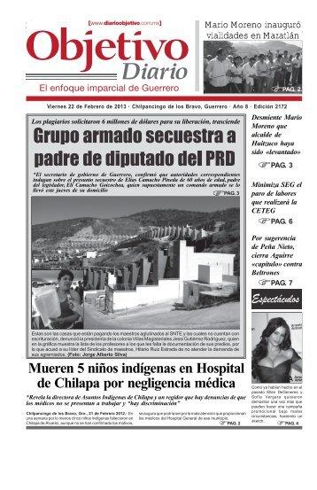 Viernes 22 de Febrero de 2013 - Diario Objetivo