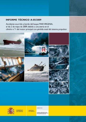 Informe Técnico A-05/2009 - Ministerio de Fomento