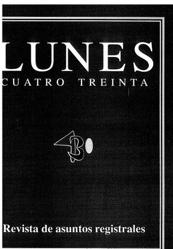 Revista nº 277.pdf - Registradores Comunidad Valenciana
