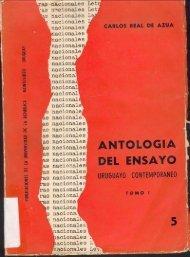 Antología del ensayo uruguayo contemporáneo - Archivo de Prensa