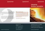 Industrial furnace renovation - Reimann Stahlbau GmbH