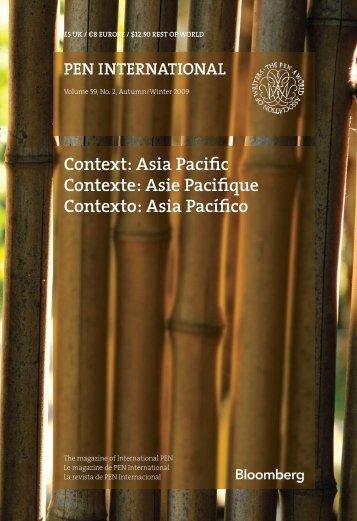 Asia Pacific Contexte: Asie Pacifique Contexto - PEN International