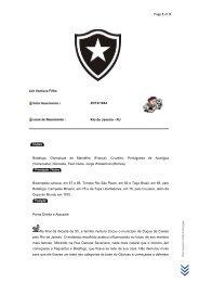 Craques do Botafogo - Jair Ventura Filho - Jairzinho - Unifap