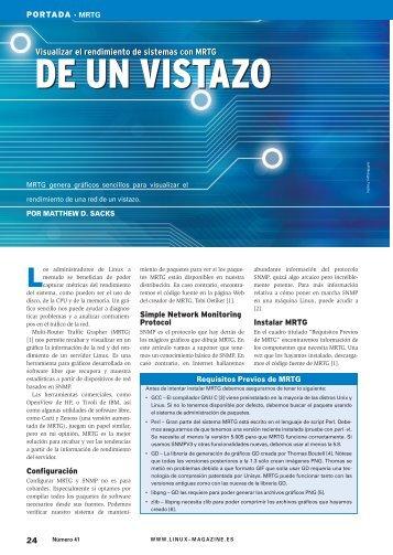 MRTG - Linux Magazine