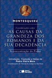 Considerações sobre - Editora Saraiva