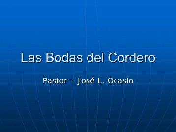 Las Bodas del Cordero - Iglesia de Dios Pentecostal M.I.