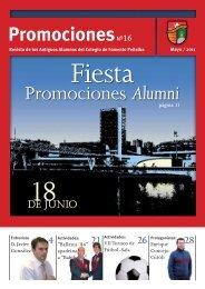Promociones Alumni - Asociacion Antiguos Alumnos Colegio Peñalba