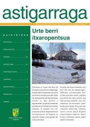 Urte berri itxaropentsua - Astigarragako Udala