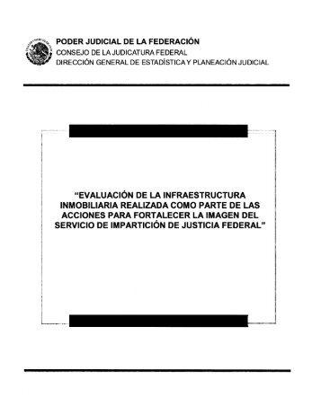 Evaluación de la infraestructura inmobiliaria - Consejo de la ...