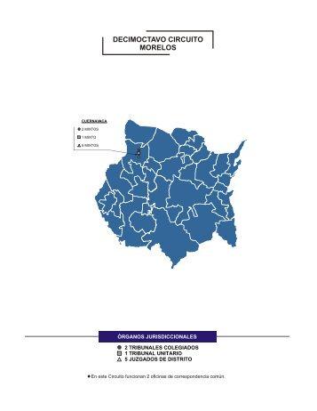 decimoctavo circuito morelos - Dirección General de Estadística ...