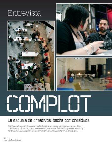 Arte y Diseño - Complot, Escuela de Creativas