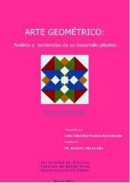 arte geométrico - Universidad de Granada