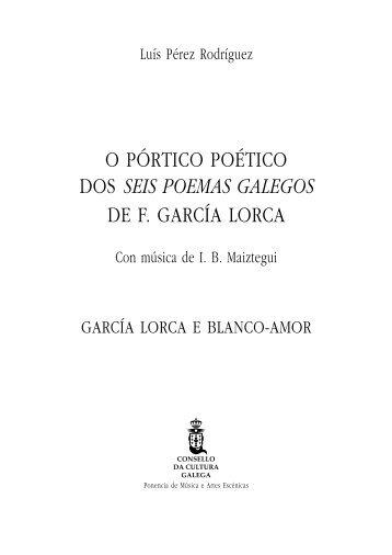 seis poemas galegos - Consello da Cultura Galega