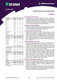 ESTRATEGIA DE INVERSIÓN - BNP Paribas