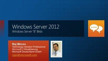 Hyper-V in Windows Server - acocon GmbH