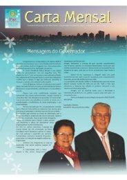 carta mensal julho de 2012 - Distrito 4600