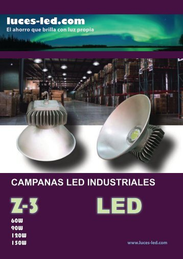 luces-led.com CAMPANAS LED INDUSTRIALES - Luces LED, España