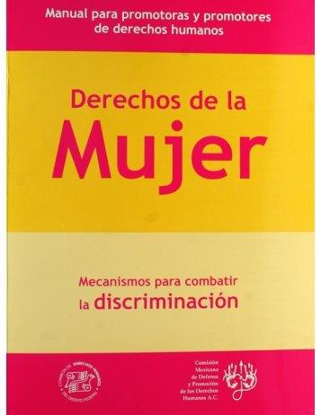 manual mujer - Comisión de Derechos Humanos del Distrito Federal
