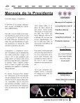 Boletín Mensual, Octubre 2007 - Asociación Costarricense de ... - Page 2