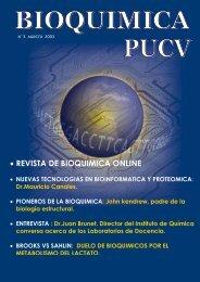 • REVISTA DE BIOQUIMICA ONLINE - Bioquimica.ucv.cl