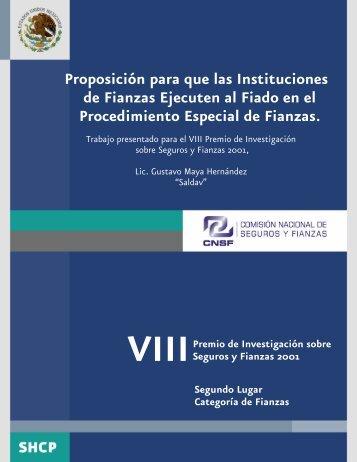 2001 Fianzas Segundo vf - Cnsf