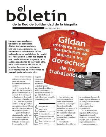 Gildan - Red de Solidaridad de la Maquila